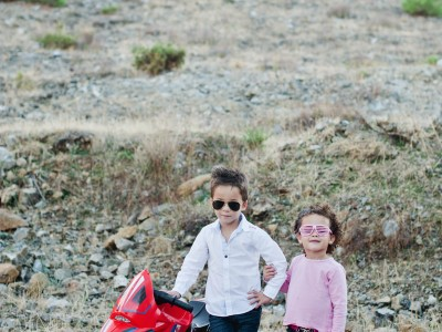 Enzo and Isabella. Family Photography. Spain.