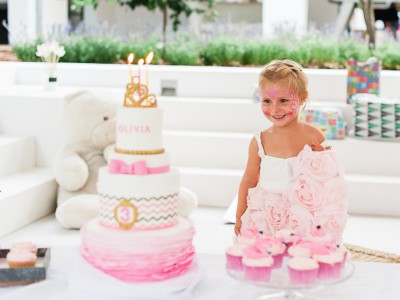 Olivia's 3rd birthday party in Marbella Club!