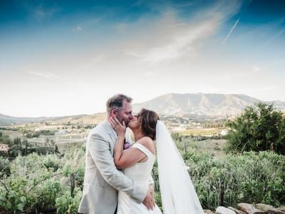 Victoria and Andrew. Wedding in Hacienda San Jose, Mijas.