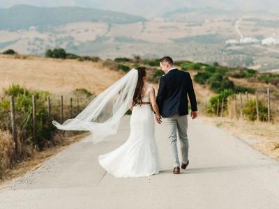 Carol + John. Wedding in Cortijo Pedro Jimenez, Casares.