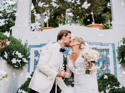 Sandra & Robert. Marbella Club Hotel Wedding.