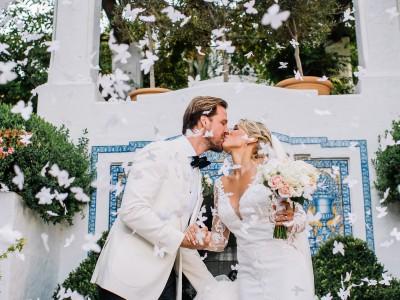 Sandra & Robert. Marbella Club Hotel Wedding.
