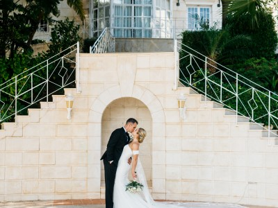 Amy & Chris. Wedding in Palacio Monte Miramar in Malaga.