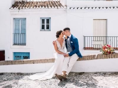 Laura + Peter. Wedding in Casa de los Bates.