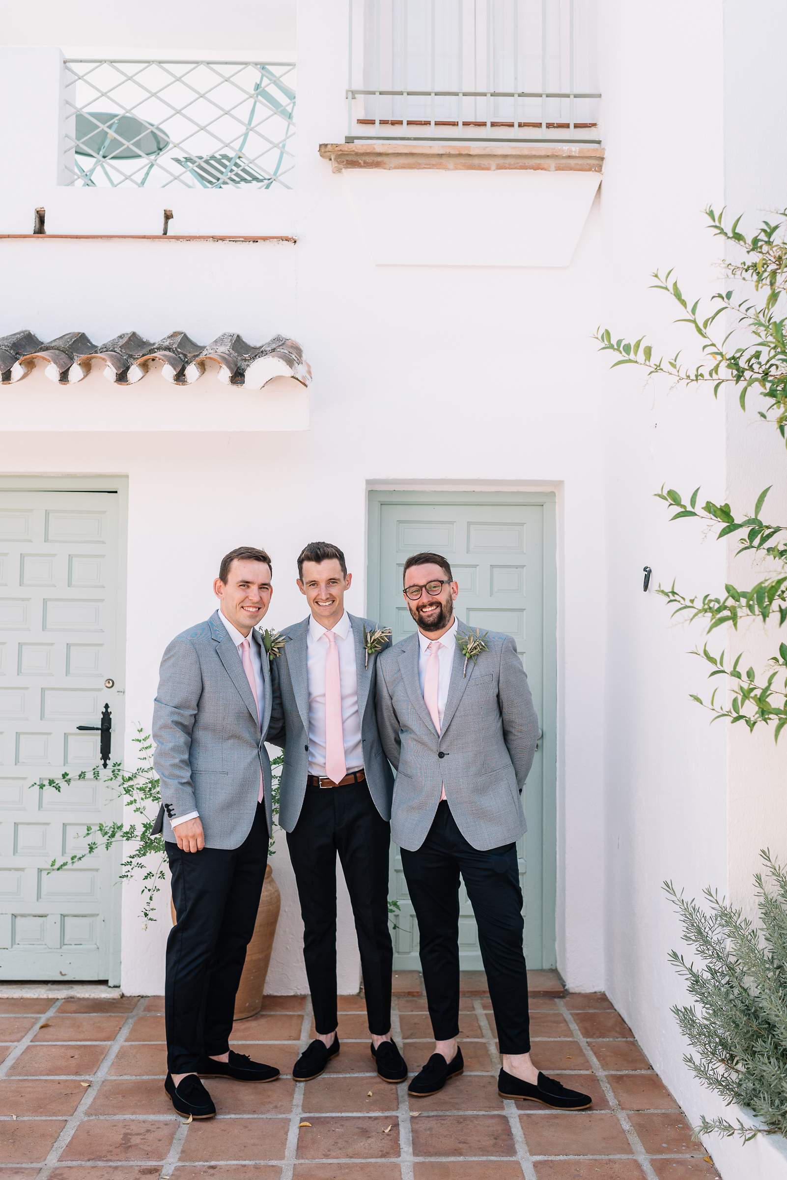 wedding in cortijo rosa blanca