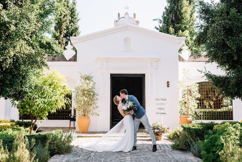 wedding in monasterio san martin